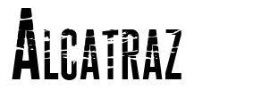 Alcatraz font