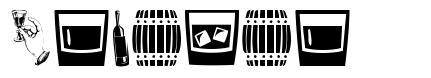 Alcohol font