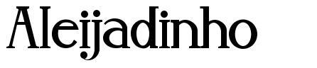 Aleijadinho font