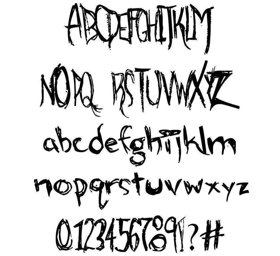Alien Strawberry font