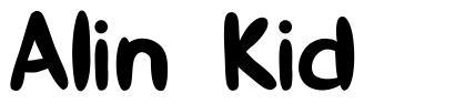 Alin Kid font