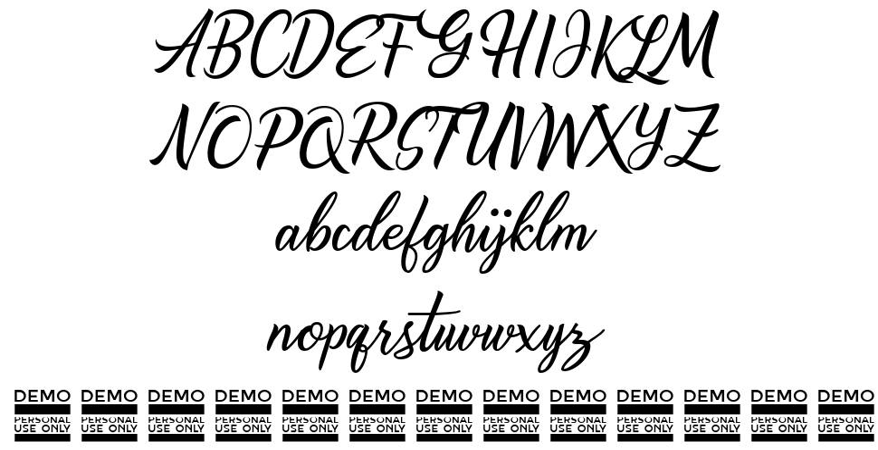 Alishader шрифт