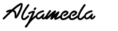 Aljameela フォント