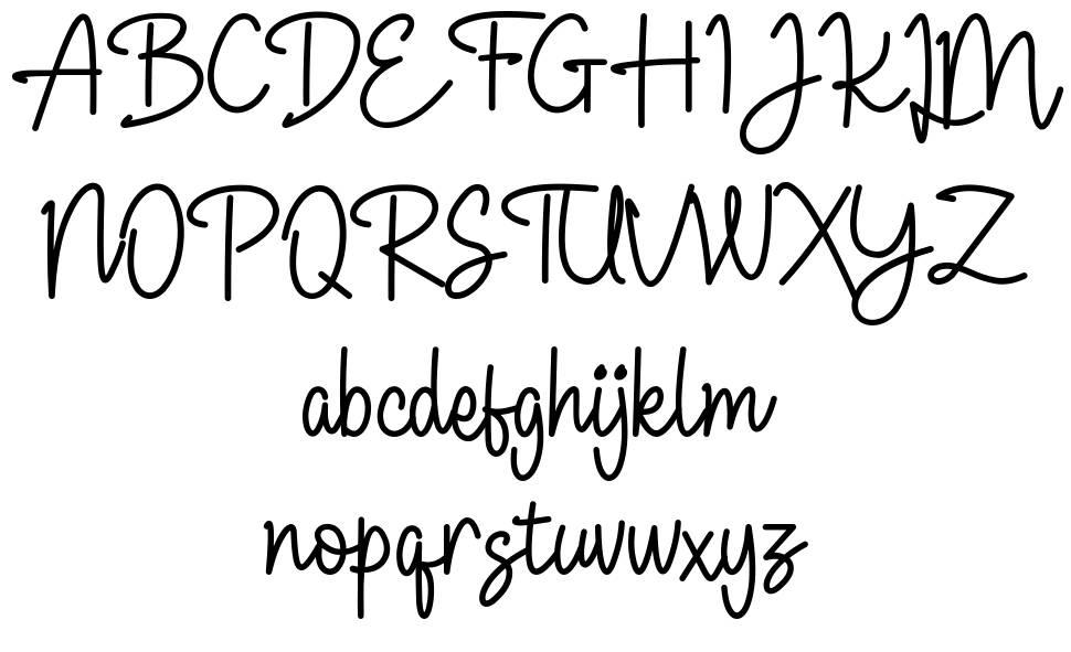 Allanis フォント