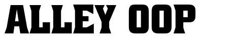 Alley Oop font