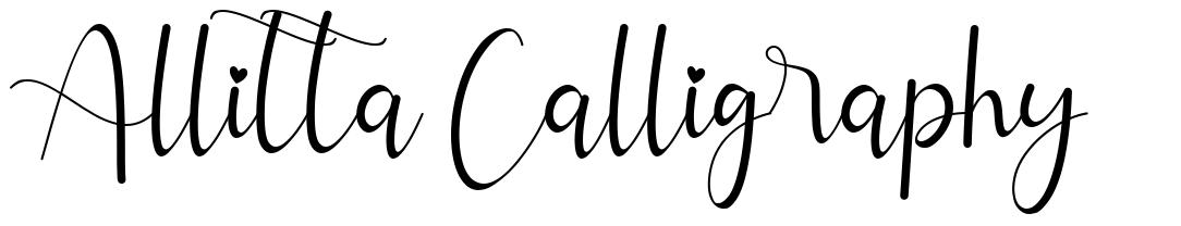 Allitta Calligraphy