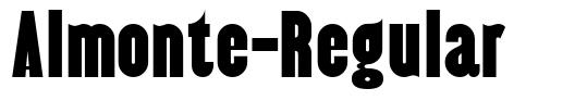 Almonte-Regular шрифт