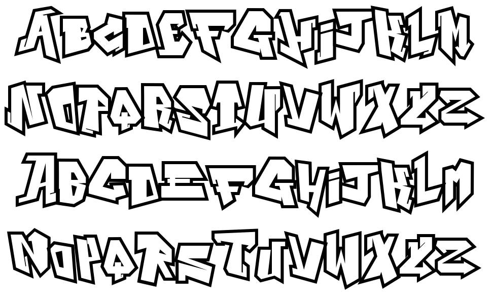 Alphabet City font