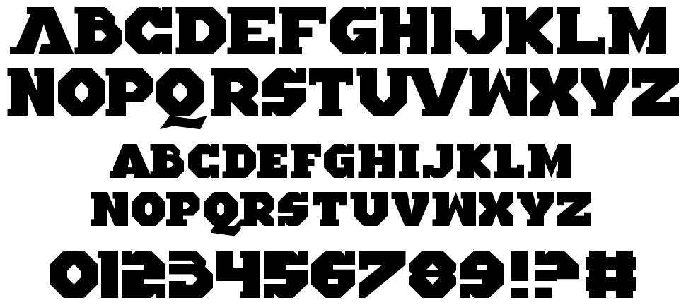 Altered Quest font
