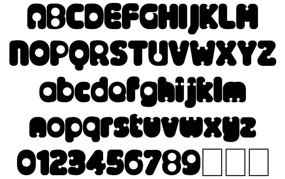 Alternative Nineties font