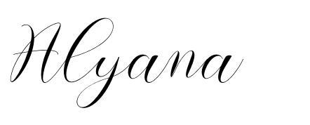 Alyana