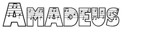 Amadeus písmo