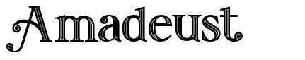 Amadeust schriftart