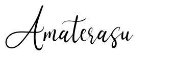 Amaterasu font