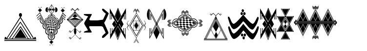 Amazigh Motifs font