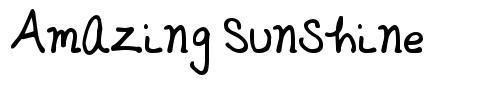 Amazing Sunshine font