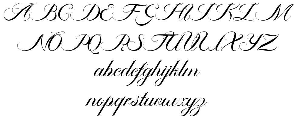 Ambergris Script font