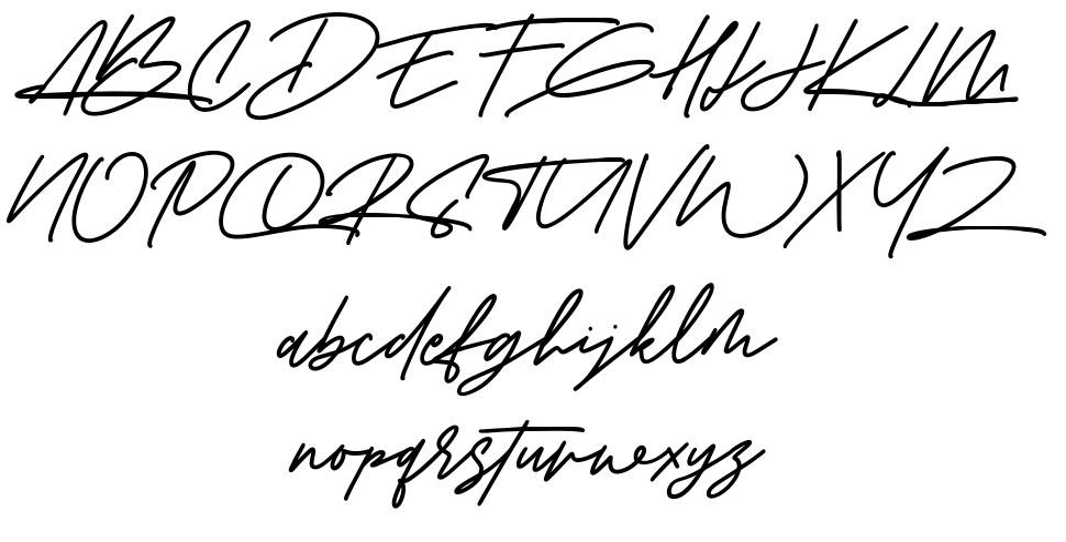 Amberla font