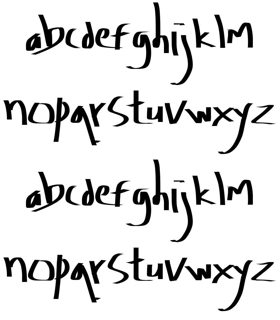 Amburegul font