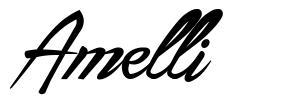Amelli font