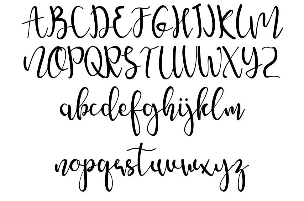 Amelyna font