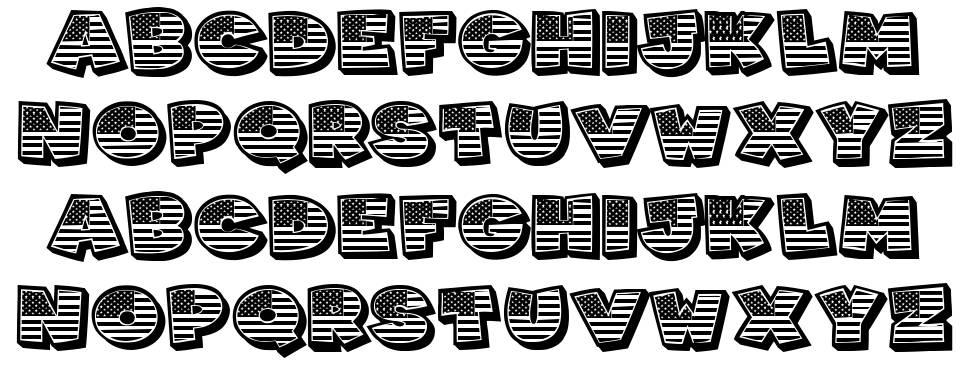 Americans font