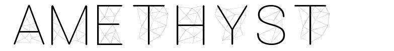 Amethyst font
