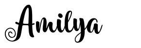 Amilya フォント