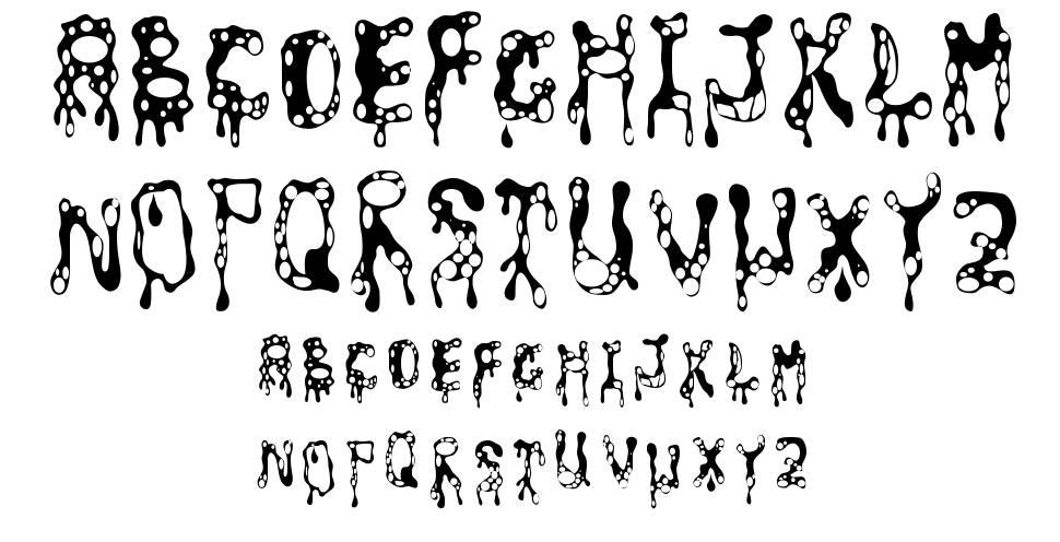 Amoeba font