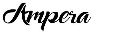 Ampera font