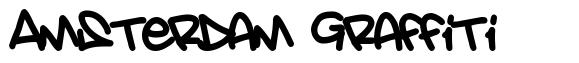Amsterdam Graffiti 字形