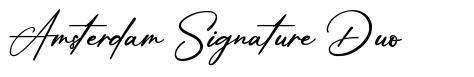 Amsterdam Signature Duo
