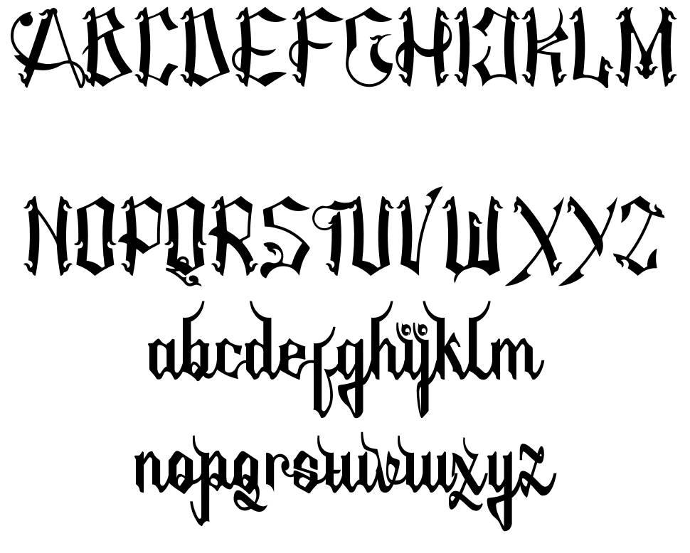 Amstha font