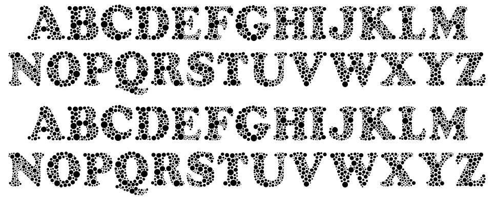 Amydor font