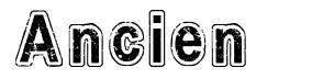 Ancien font