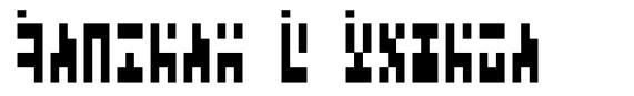 Ancient G Modern font