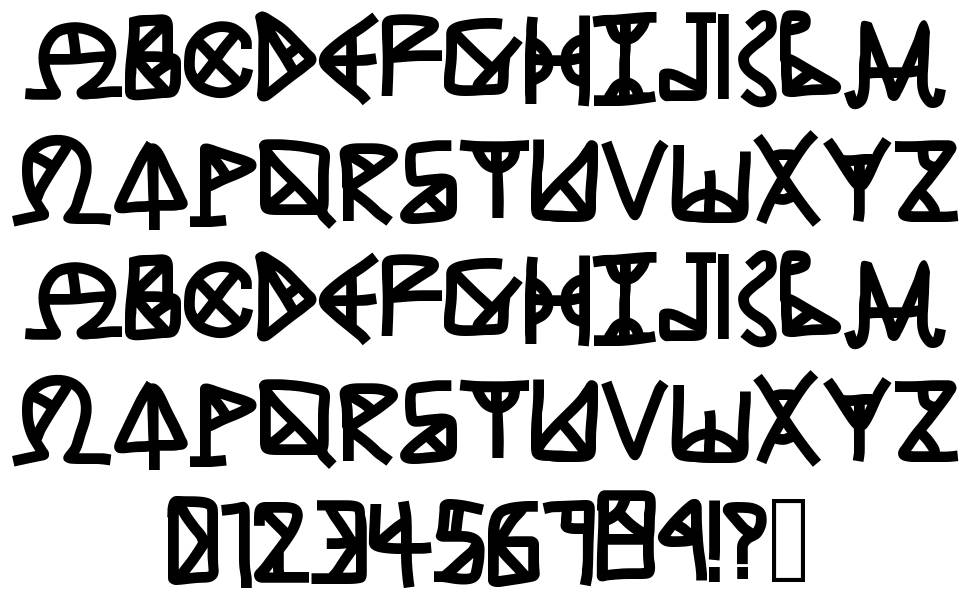 Ancient Grease font by Typewire Studios - FontRiver