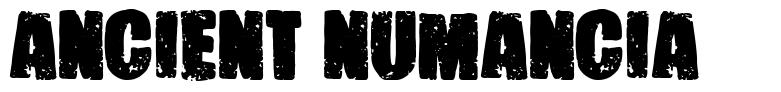 Ancient Numancia font