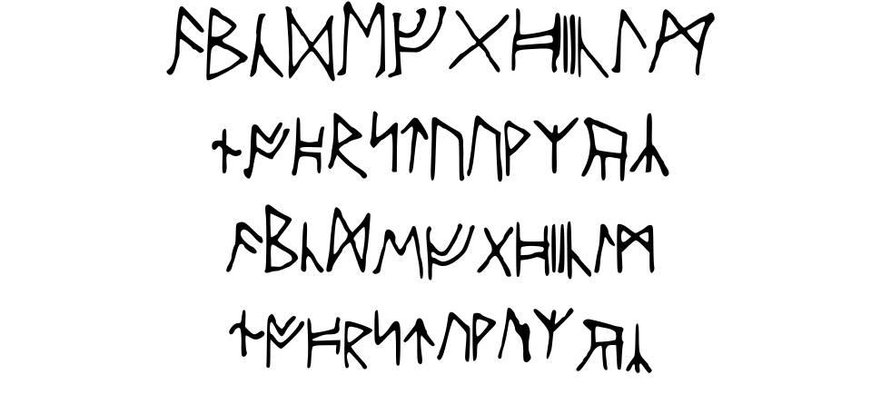 Ancient Runes fonte
