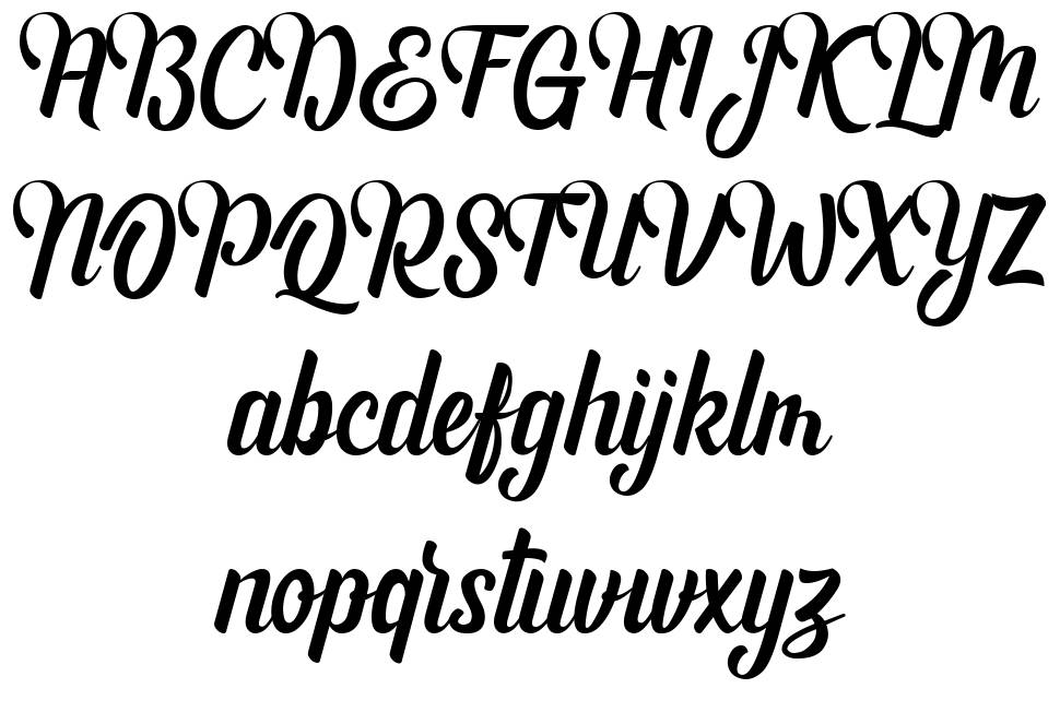 Andhyta font