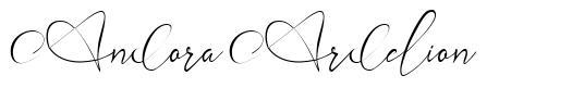 Andora Ardelion font