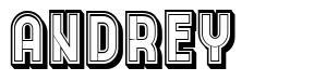 Andrey font