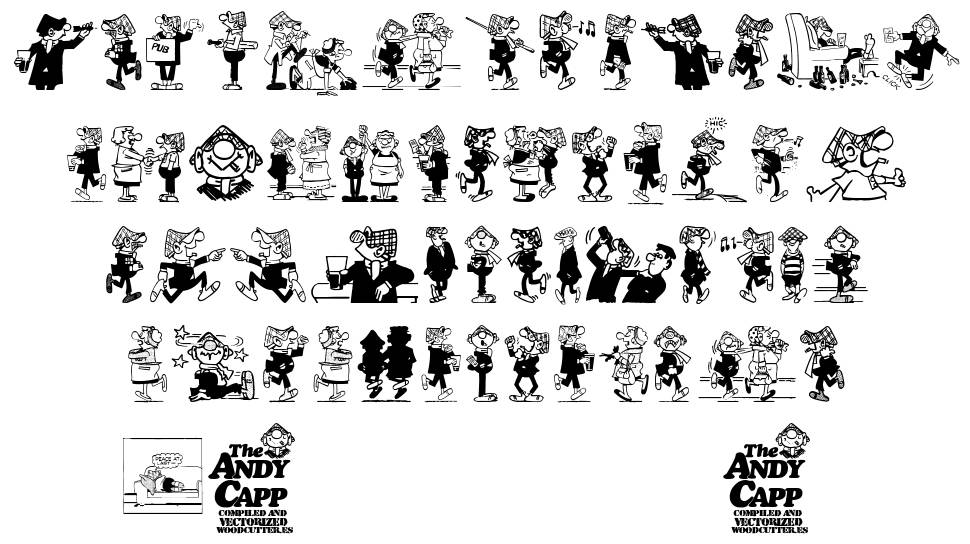 Andy Capp шрифт