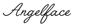 Angelface 字形