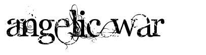 Angelic War 字形