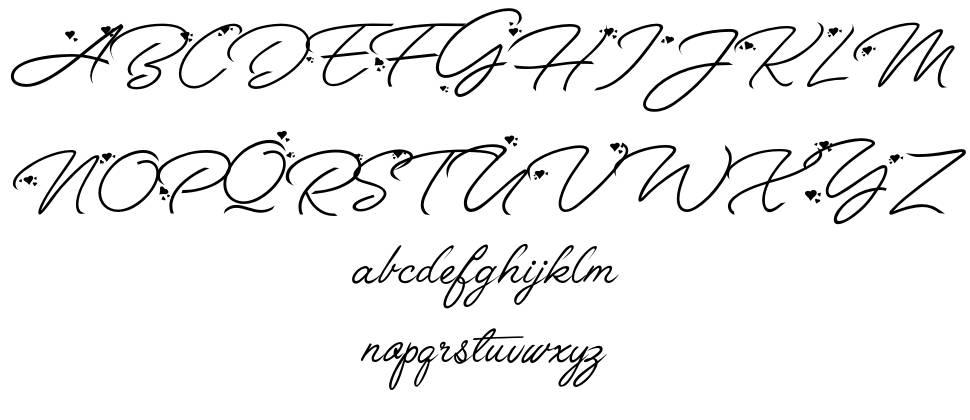 Anggrek font