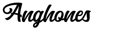 Anghones font