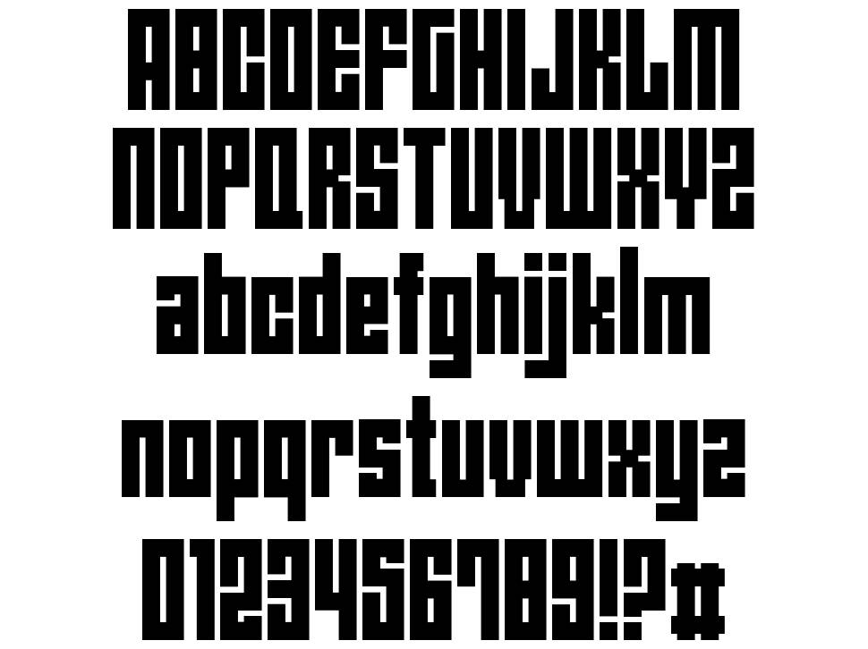 Angie's New House font