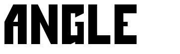 Angle font