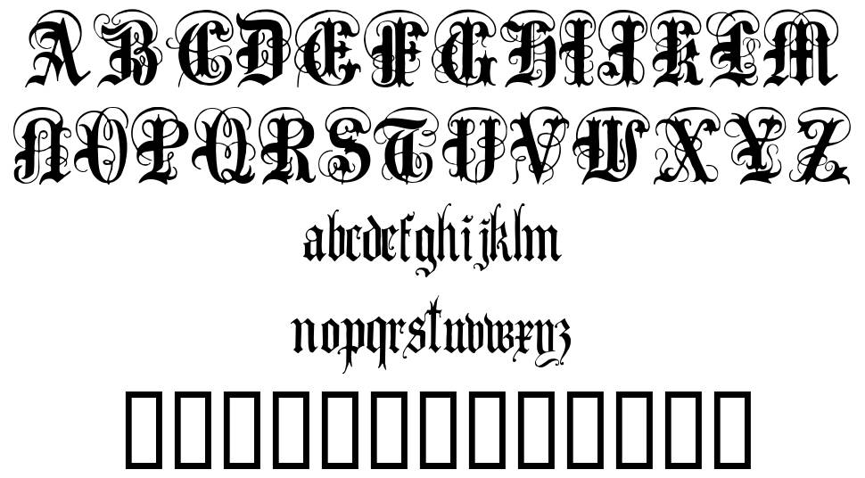Anglo Text font